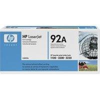 Toner oryginalny HP C4092A czarny do LaserJet 1100 / 3200 / 3220 na 2,5 tys. str 92A