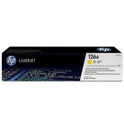 Toner oryginalny HP 126A (CE312A) yellow do HP Color LaserJet CP1025 / Pro 100 Color MFP M175a / Laserjet Pro M275  na 1 tys. str.