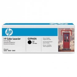 Toner oryginalny Q3960A black do HP Color LaserJet 2550 / 2820 / 2840 na 5 tys. str.