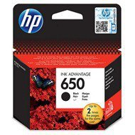 Tusz HP 650 do Deskjet 1015/1515/2515/3515/3545/4645   360 str.   black