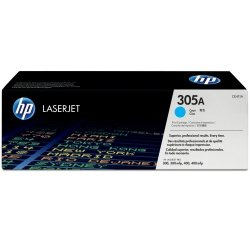 Toner oryginalny HP 305A (CE411A) cyan do HP Color LaserJet M451 / Pro 400 Color M451 / Pro 300 color M351a / Pro 300 color MFP M375nw / Pro 400 color MFP M475 na 2,6 tys. str.