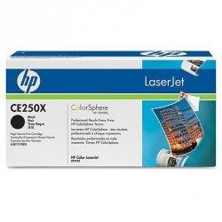 Toner oryginalny HP CE250X black do HP Color LaserJet CP3525 / CP3525n / CP3525dn / CP3525x / CM3530 / CM3530fs na 10,5 tys. str.