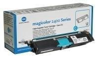 Toner oryginalny P1710589007 cyan do Konica Minolta Magicolor 2400W / 2430DL/ 2450/ 2480 /2490 /2550 / 2590