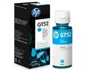 HP Tusz nr GT52 M0H54AE Cyan 8000sh butelka 70 ml