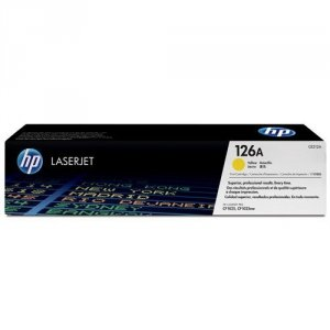 Toner oryginalny HP 126A (CE312A) yellow do HP Color LaserJet CP1025 / Pro 100 Color MFP M175a / Laserjet Pro M275  na 1 tys. str.