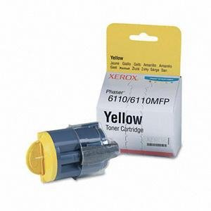 Toner Xerox 106R01204 yellow do Phaser 6110 / Phaser 6110 MFP na 1 tys. str.