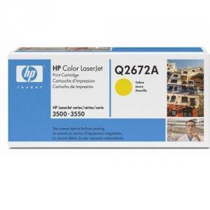 Toner HP Q2672A yellow do Color LaserJet 3500 / 3550 na 4 tys. str.