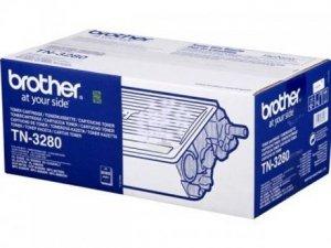 Toner oryginalny Brother TN3280 black do HL-5340D / HL-5350DN / HL-5370DW / HL-5380DN / DCP-8070D / DCP-8085DN / MFC-8370DN / MFC-8380DN / MFC-8880DN / MFC-8890DW  na 8 tys. str. TN-3280