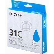 Tusz Ricoh do GXE2600/3300/3350/5550 | 1 000 str. | cyan