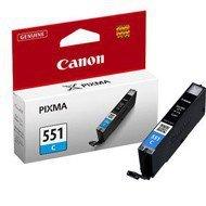 Tusz Canon CLI551C do iP-7250, MG-5450/6350   7ml   cyan