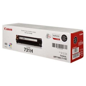 Toner oryginalny Canon 731H black LBP-7100C LBP-7110C 2,4 tys. CRG731H