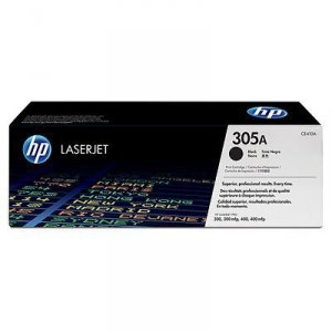 Toner oryginalny HP 305A (CE410A) black do HP Color LaserJet M451 / Pro 400 Color M451 / Pro 300 color M351a / Pro 300 color MFP M375nw / Pro 400 color MFP M475 na 2,2 tys. str.