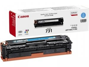 Toner oryginalny Canon 731 cyan LBP-7100C LBP-7110C 1,5 tys. CRG731C
