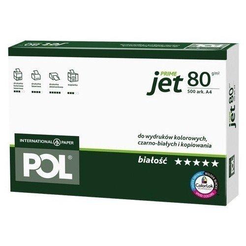 Papier A4 uniwersalny POLjet 80g - 1 ryza (500 arkuszy)