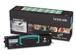 Toner Lexmark 0E450H11E black  do Optra E 450 / Optra E 450DN na 11 tys. str.