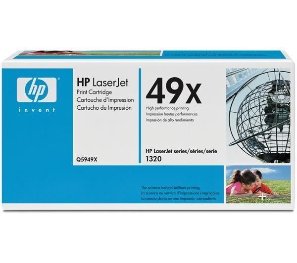 Toner HP Q5949X black do HP LaserJet 1320 / 3390 / 3392 / na 6 tys.str. 49X