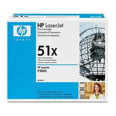 Toner HP Q7551X black do HP LJ M3035 MFP / P3005 / M3027MFP / M3035MFP / M3027MFP na 13 tys. str. 51X
