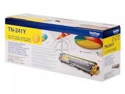Toner oryginalny Brother TN241Y yellow do  HL-3140CW / HL-3150 / HL-3170 / DCP-9020 / MFC-9140CDN na 1,4 tys. str. TN-241Y