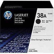 Zestaw dwóch tonerów HP 38A do LaserJet 4200 | 2 x 12 000 str. | black