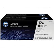 Zestaw dwóch tonerów HP 12A do LaserJet 1010/1012/1015   2 x 2 000  str.   black