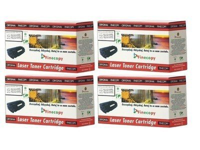 Komplet tonerów CMYK  FINECOPY FC-CC53KMPL do HP Color LaserJet CM 2320 / CP 2025 / CP 2020 / (black, cyan, magenta,