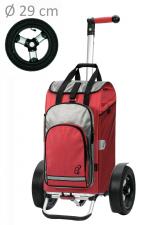 Wózek na zakupy Tura 136 Hydro czerwony, firmy Andersen