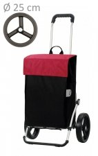 Wózek na zakupy Royal 166 Hera czerwony, firmy Andersen