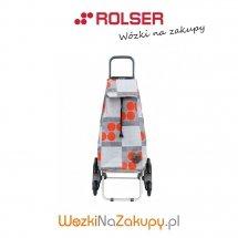 Wózek na zakupy IMX045 RD6 LOGOS kolor ROJO, firmy Rolser