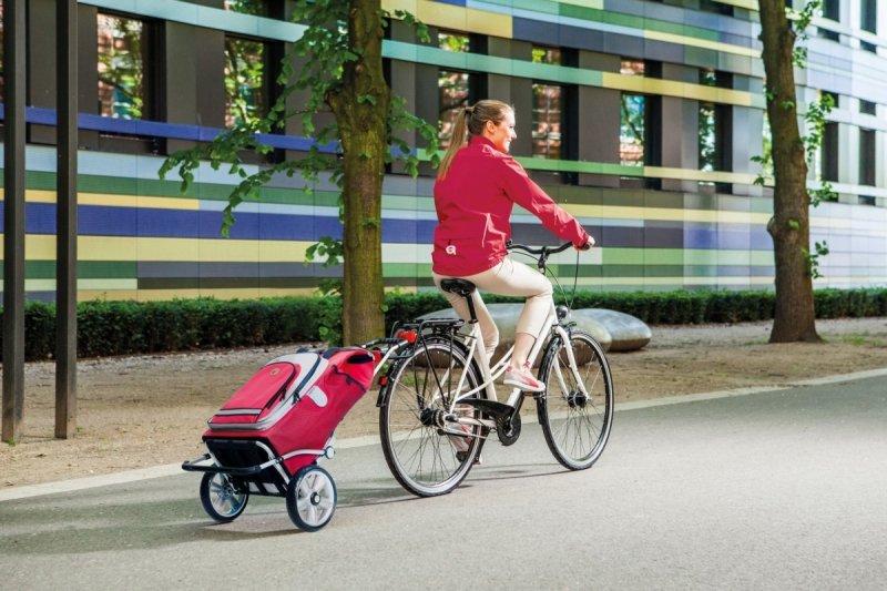 Wózek na zakupy Royal 167 Dots niebieski, firmy Andersen