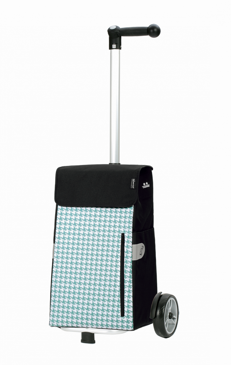 Wózek na zakupy Unus Tilly turkusowy, firmy Andersen