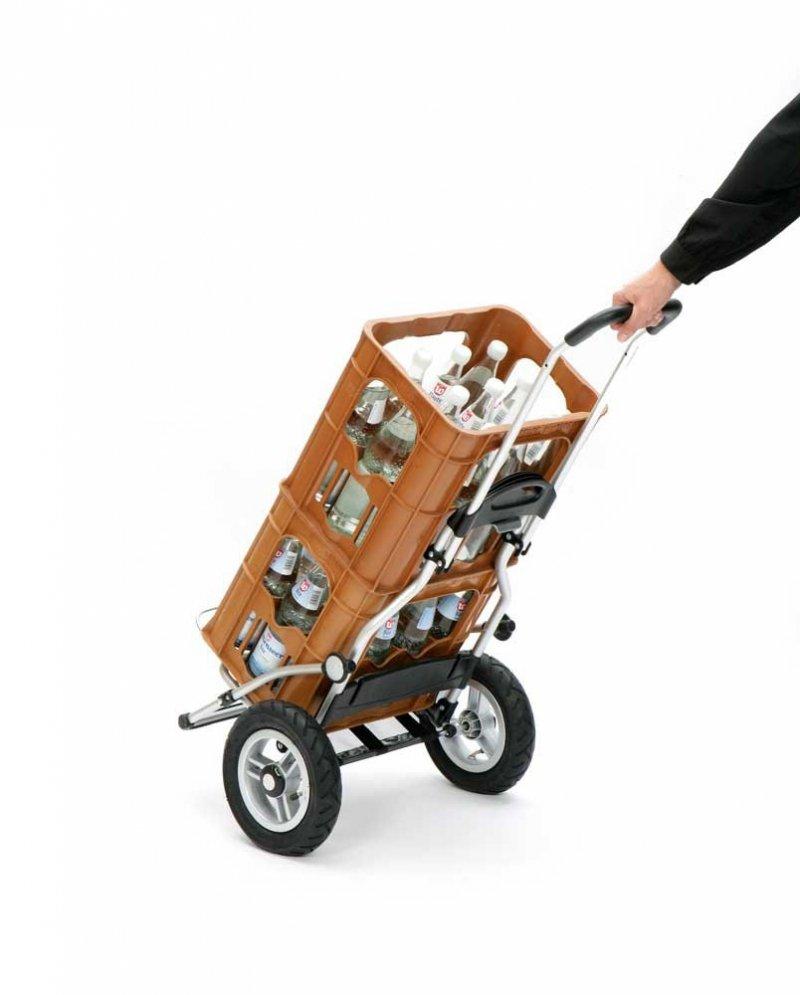 Wózek na zakupy Royal 163 Ortlieb srebrny, firmy Andersen