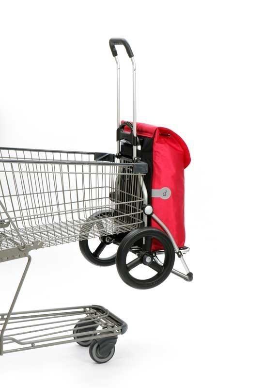 Wózek na zakupy Royal 164 Kira czerwony, firmy Andersen