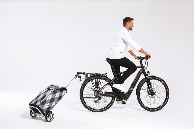 Wózek na zakupy Unus Hydro 2.0 zielony, firmy Andersen