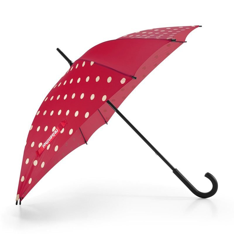 Parasol Umbrella kolor Ruby Dots, firmy Reisenthel