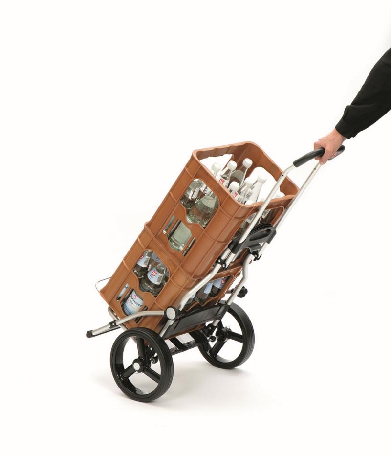 Wózek na zakupy Royal 166 Lizzy granatowy, firmy Andersen