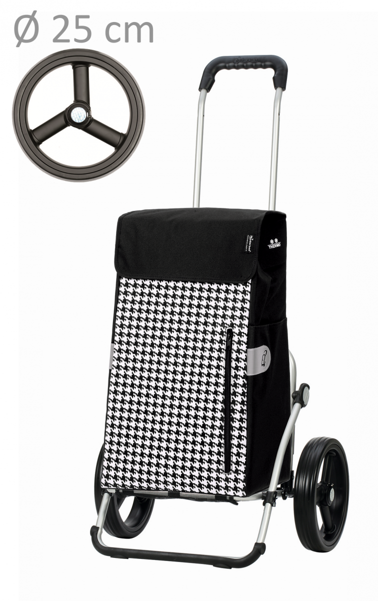 Wózek na zakupy Royal 166 Tilly czarny, firmy Andersen