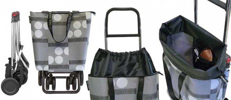 Wózek na zakupy MNB021 Mini Bag LOGIC TOUR kolor Azul, firmy Rolser