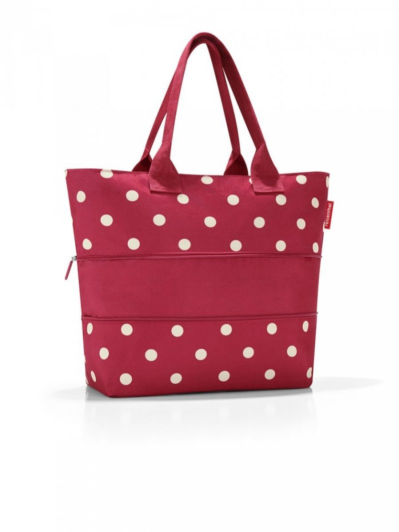 Torba na zakupy Shopper e1 kolor Ruby Dots, firmy Reisenthel