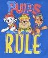 Bluzka Psi Patrol Rule niebieska