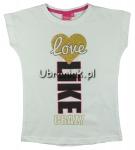 T-shirt Dziewczęcy Like Love Crazy