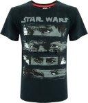 T-shirt Star Wars Ostatni Jedi czarny