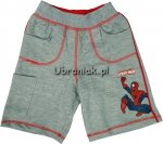 Spodenki Spiderman szare