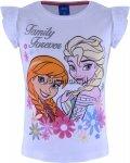 T-shirt Kraina Lodu Family Forever biały