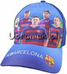 Czapka Bejsbolówka FC Barcelona granatowa