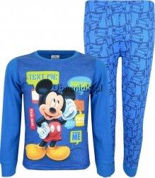 Piżama Myszka Miki niebieska