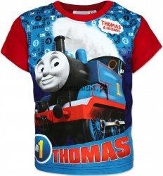 T-shirt Tomek i przyjaciele czerwony
