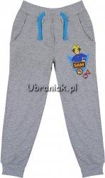 Spodnie dresowe wiosenne Strażak Sam szare
