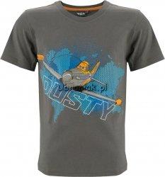 T-shirt Samoloty szary