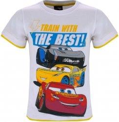 T-shirt Cars Zygzak Cruz i Storm biały