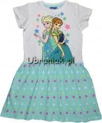 Sukienka Kraina Lodu Frozen zielona